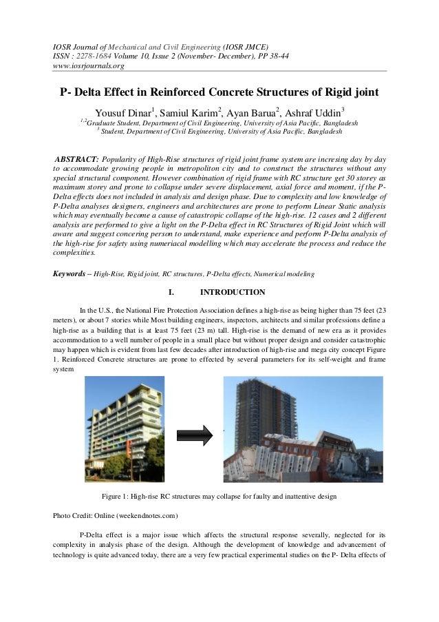 IOSR Journal of Mechanical and Civil Engineering (IOSR JMCE) ISSN : 2278-1684 Volume 10, Issue 2 (November- December), PP ...