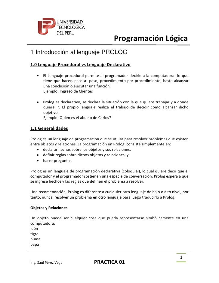 P R O L O G  Practica01