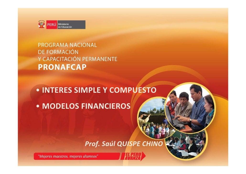 P02 ppt Interés Simple y Compuesto