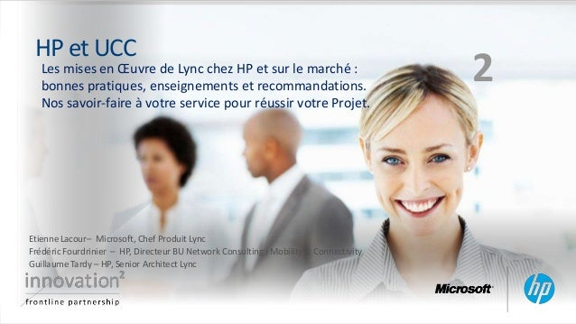 Lync Interact France -  Lync@HP Microsoft France