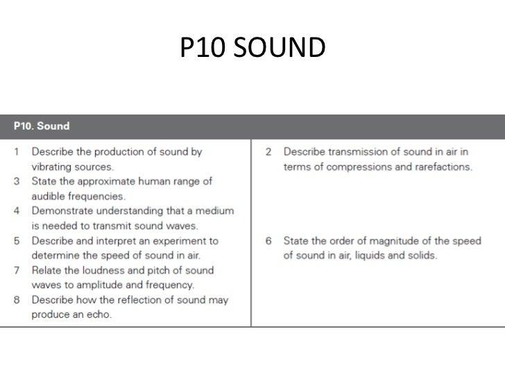 P10 SOUND