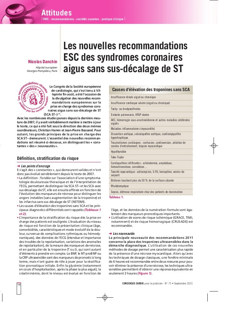 Attitudes                  I FMC - recommandations - sociétés savantes - pratique clinique I                              ...