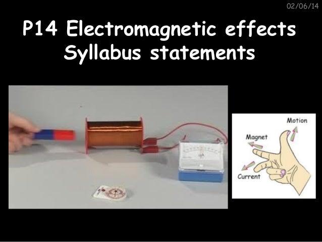 P14 syllabus statements