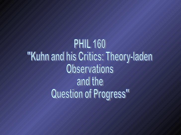 P160 Kuhn and his Critics