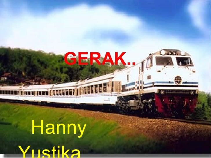 P1 Gerak Hanny
