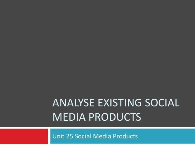 P1 social media products