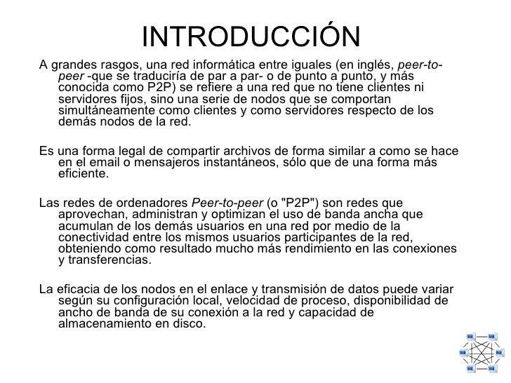 legalidad p2p:
