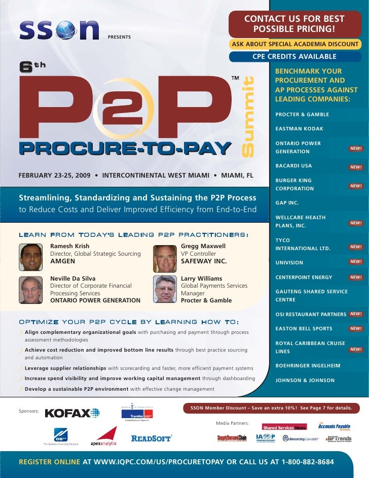 7th Procure-to-Pay Summit