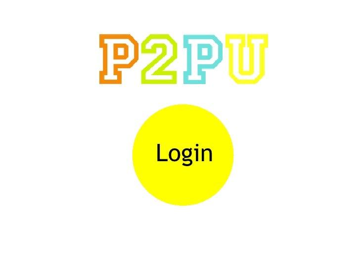 Peer 2 Peer University Overview