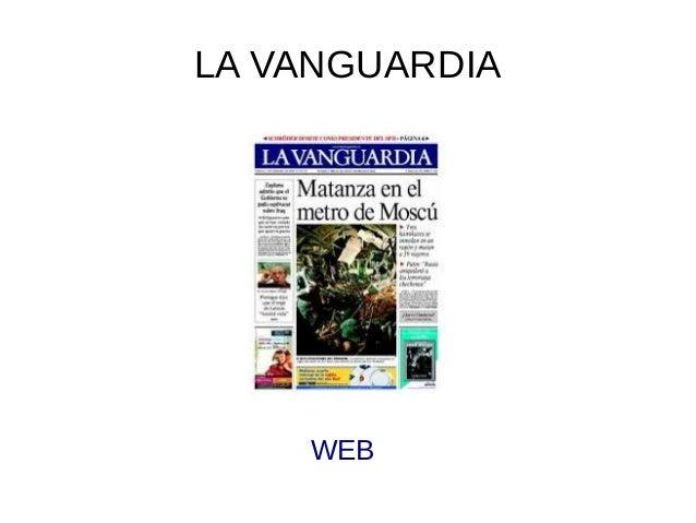 LA VANGUARDIA  WEB