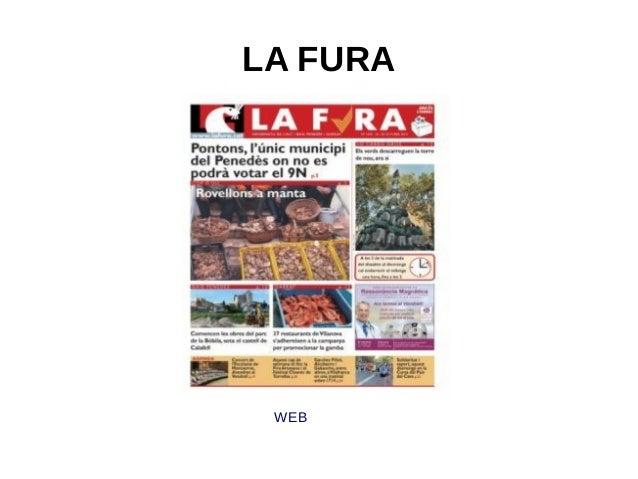 LA FURA  WEB