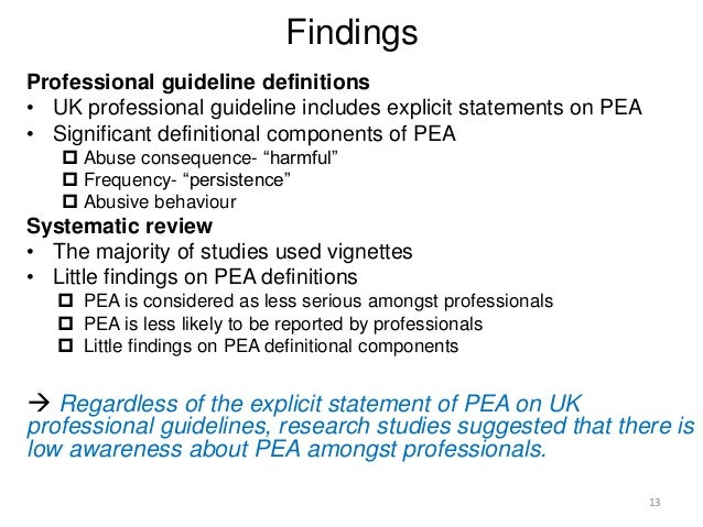 an examination of emotional abuse The evaluation of suspected child physical abuse pediatrics 2015135(5):e1337-e1354 - september 01 and emotional abuse 40, 41 in some cases, this will require consultation with pediatric subspecialists general physical examination findings that suggest abuse include the.