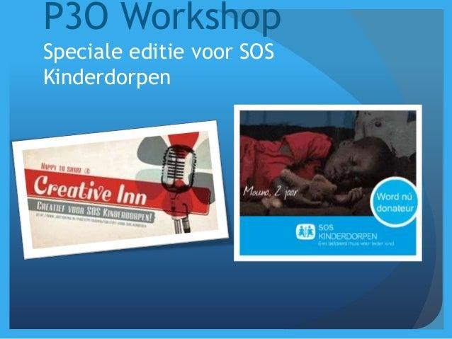 P3O workshop @soskinderdorpen v.1.0