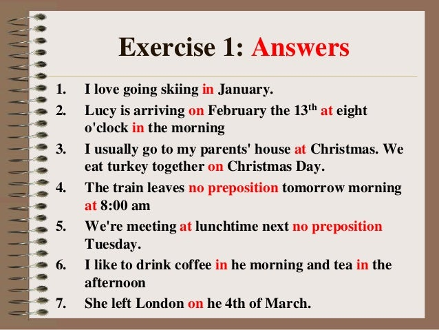 Time Worksheets time worksheets for grade 5 pdf : Prepositions Exercises For Class 11 - using prepositions ...