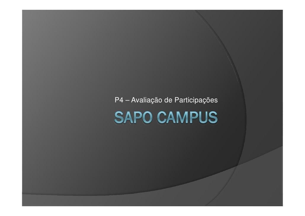 P4   Sapo Campus