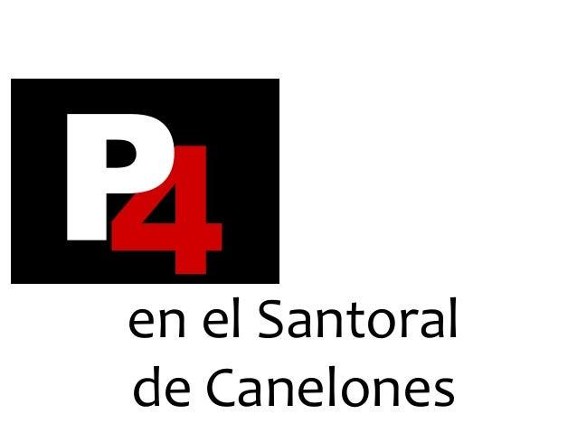 Prevención Cuaternaria en el Santoral de Canelones