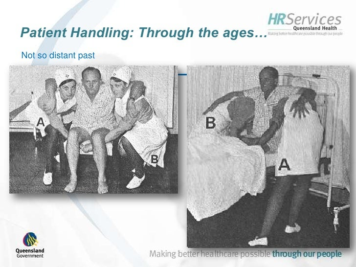 manual handling aged care techniques