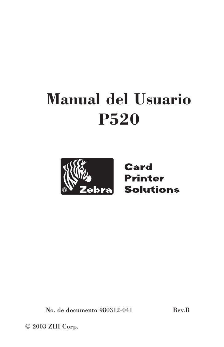 P520 spanish