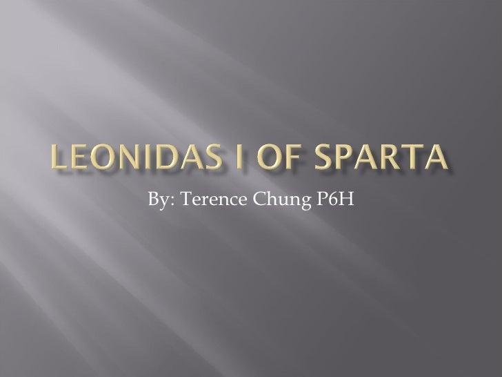 P6 H Terence Chung Biography