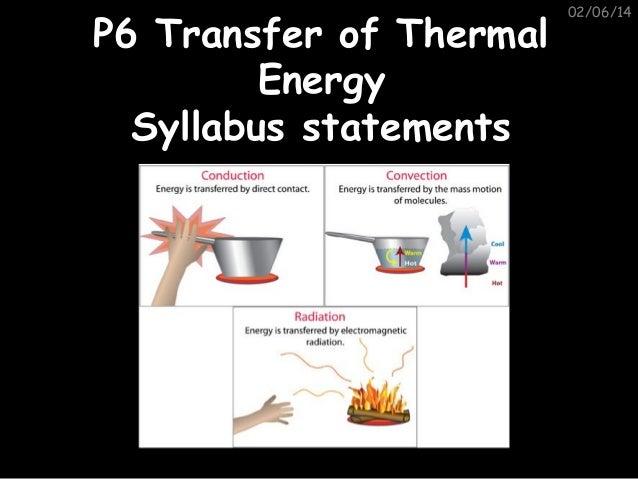 P6 syllabus statements