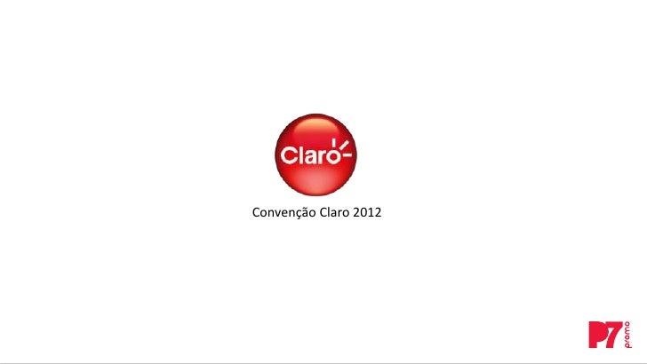 Convenção Claro 2012