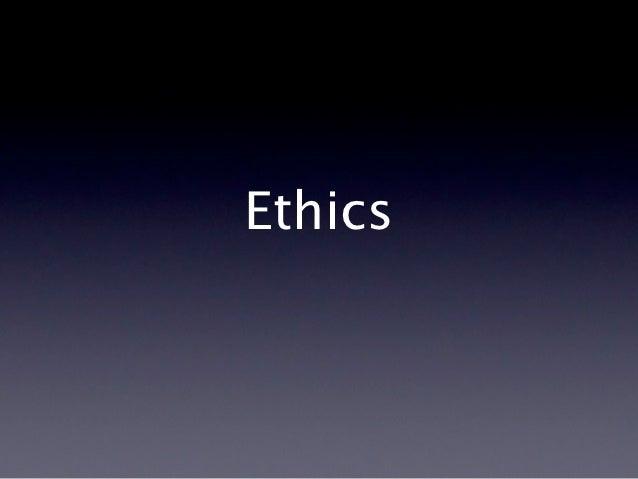 P7 ethics