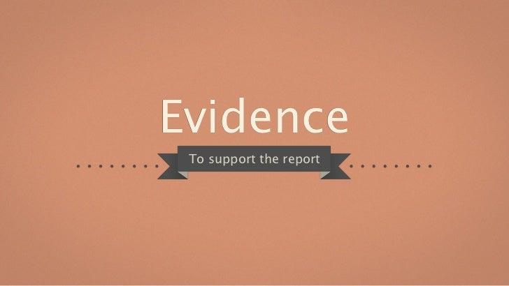 P7 Audit evidence