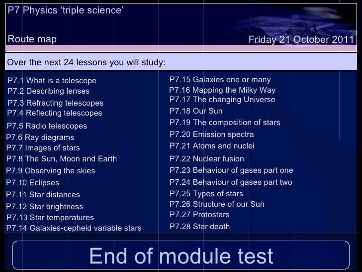 P7 lesson part four