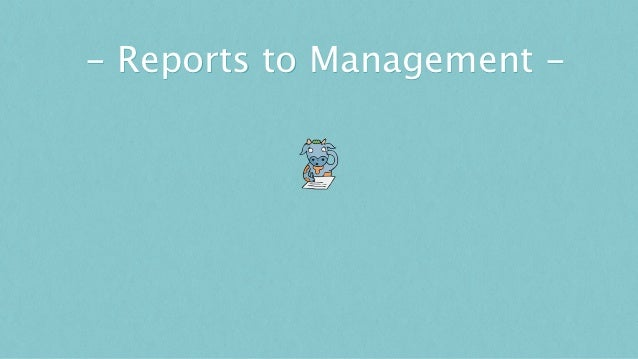 - Reports to Management -