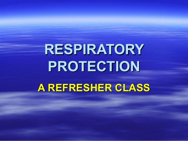 Respiratory Protection Refresher Training by WSU Tree Fruit Research & Extension Center