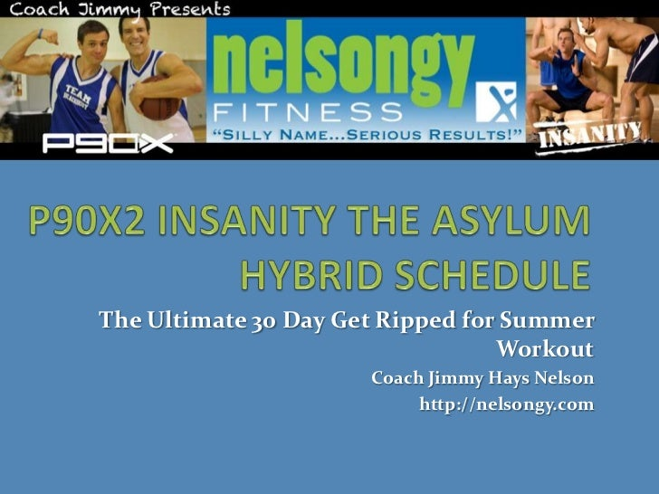 The Ultimate 30 Day Get Ripped for Summer                                  Workout                      Coach Jimmy Hays N...