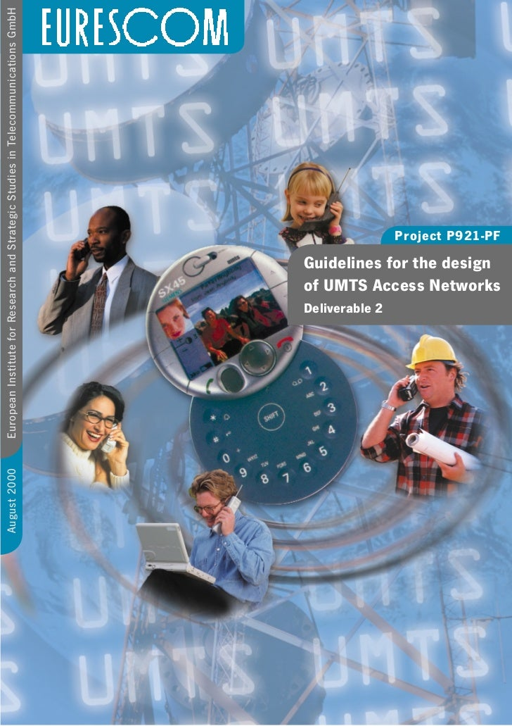 August 2000   European Institute for Research and Strategic Studies in Telecommunications GmbH                            ...