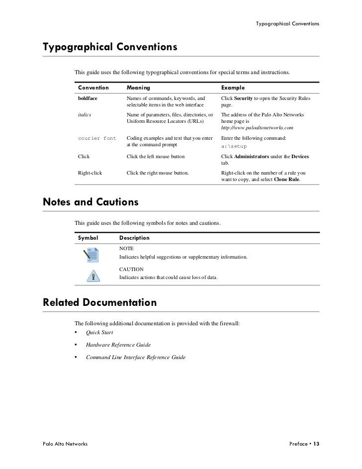 PANOS 4.1 Administrators Guide