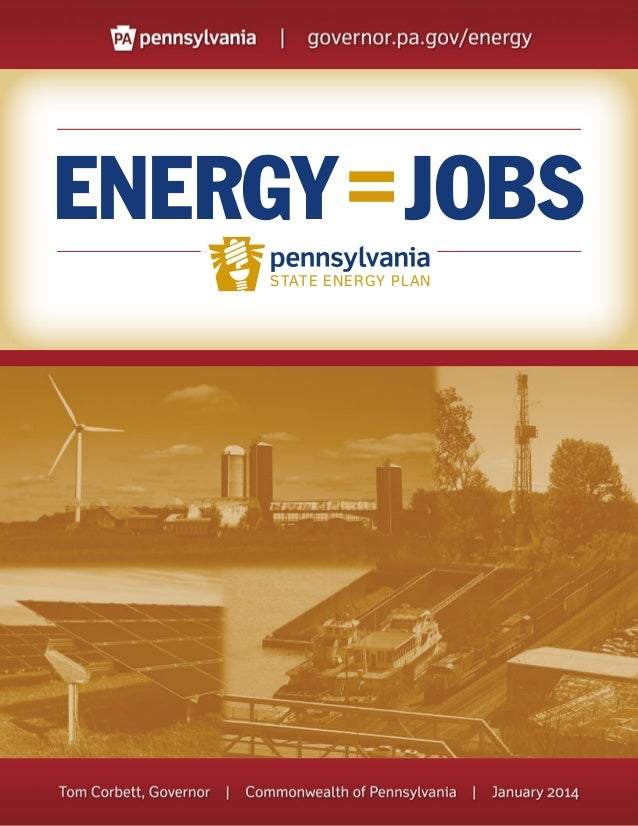 ENERGY = JOBS STATE ENERGY PLAN