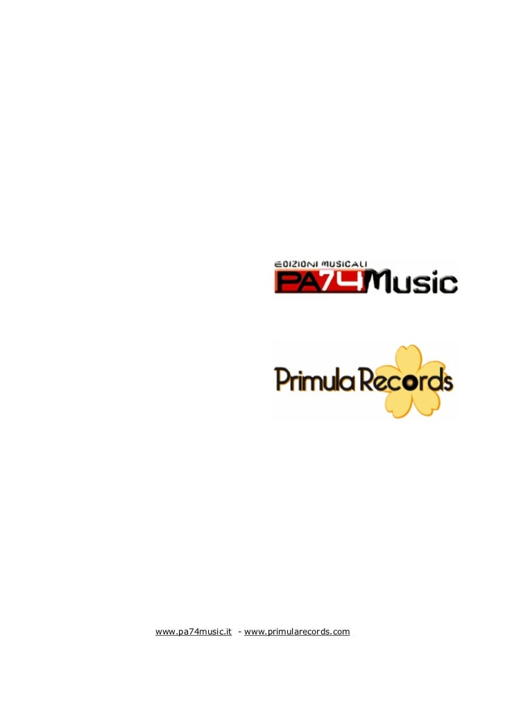 Pa74 Music Primula Records
