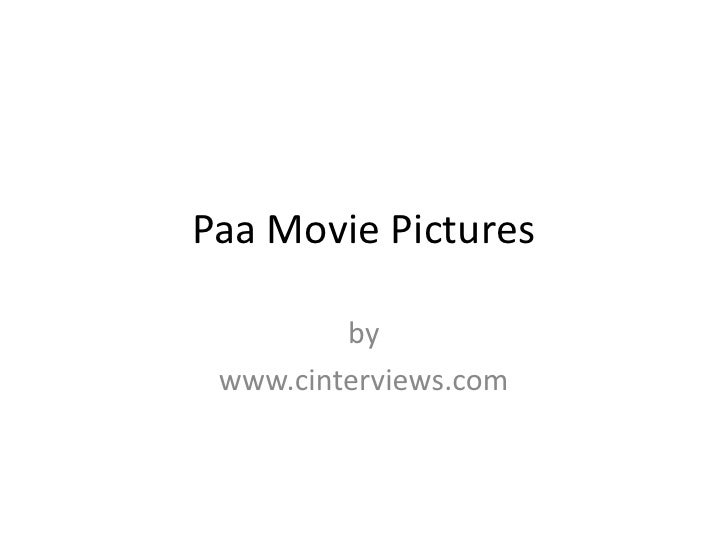 Paa Movie