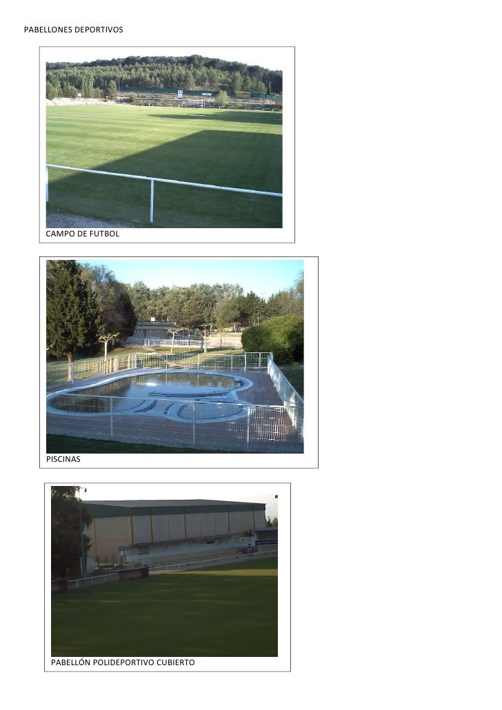 Pabellones deportivos