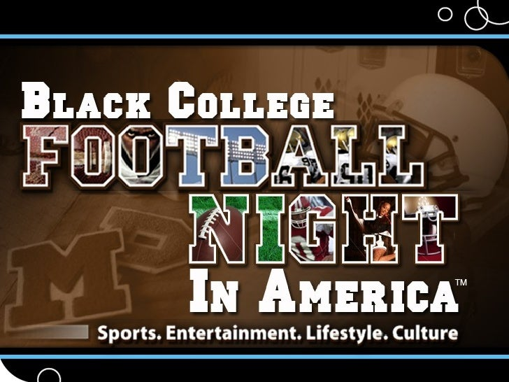 P&A Black College Football Night In America Ppt 10