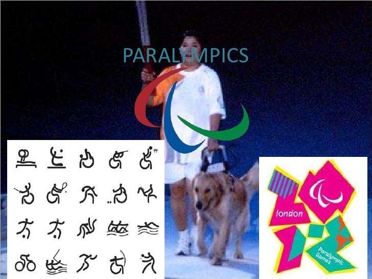Pablo paralympics