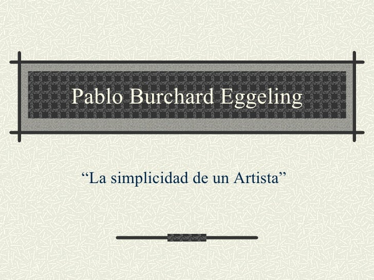 Pablo Burchard