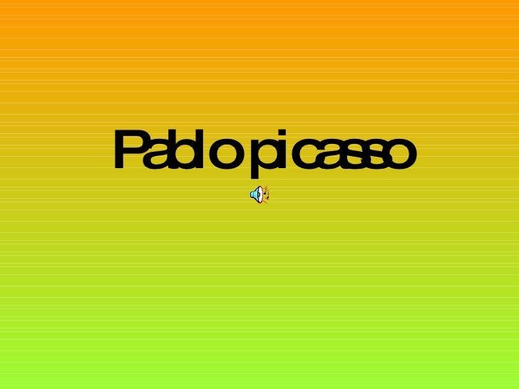 Pablo Picasso Jv