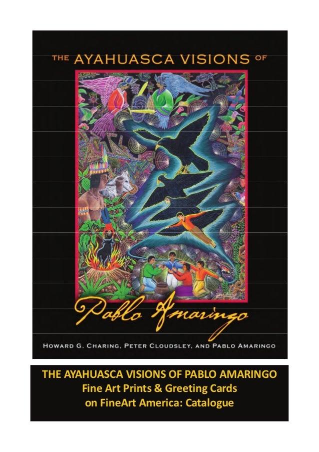 Pablo Amaringo - Ayahuasca Visions: Fine Art Prints and Greeting Cards Catalog