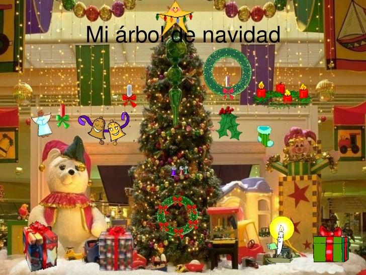 Mi árbol de navidad<br />