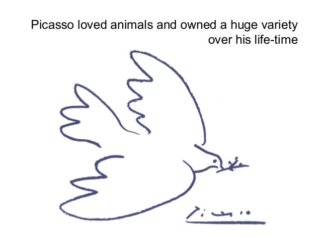 Picasso Line Drawings Of Animals : Pablo picasso line drawings