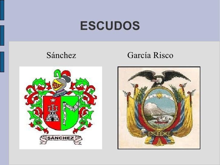 ESCUDOSSánchez        García Risco