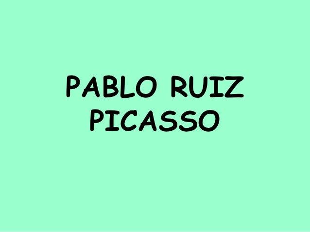 Pablo ruiz picasso definitiu