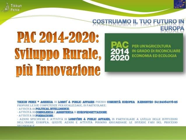 PAC 2014- 2020