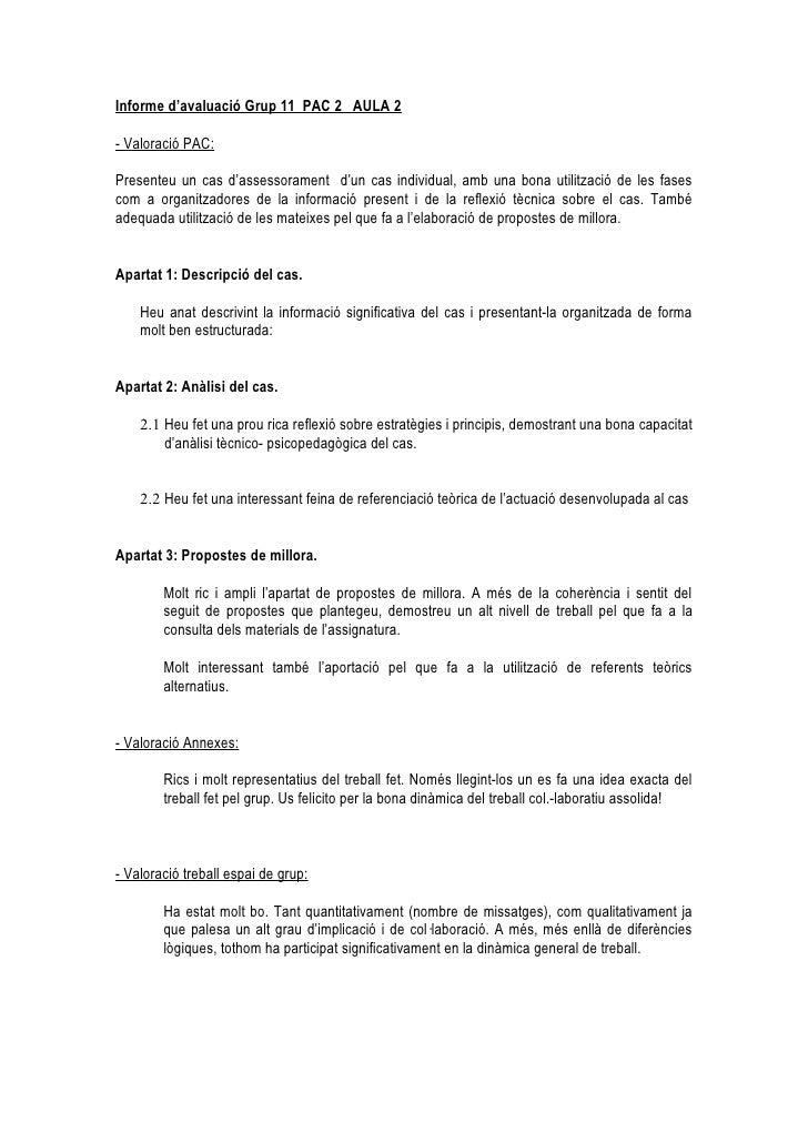 Analisi de casos PAC 2 UOC comentaris generals