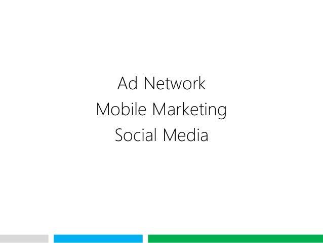 VHTAd NetworkMobile MarketingSocial Media