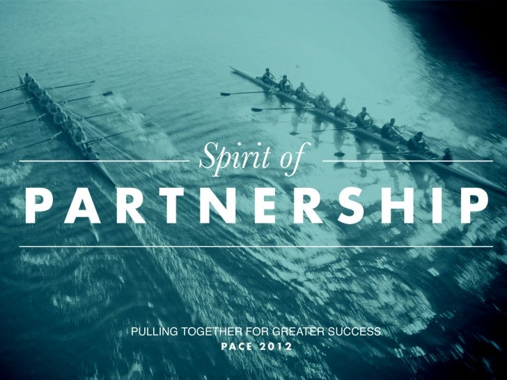 Spirit of Partnership Pace 2012